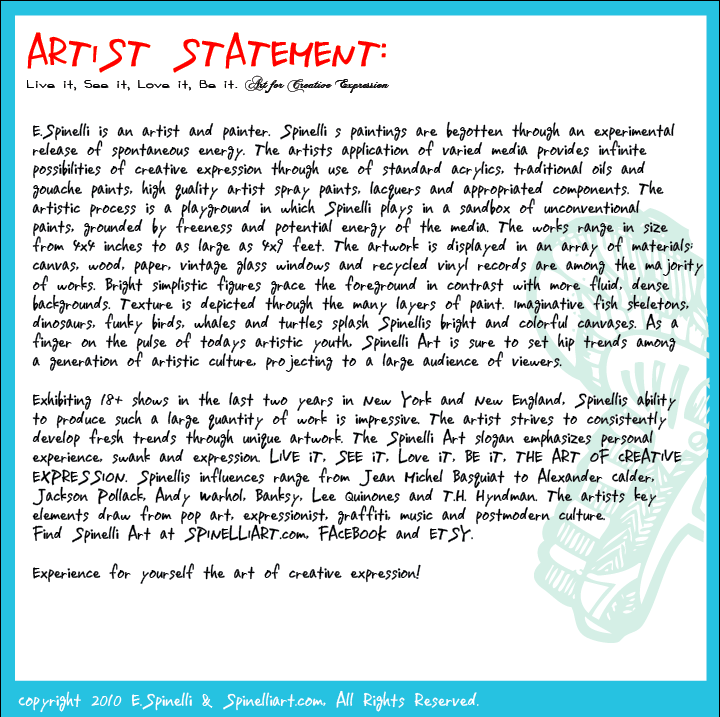 Portrait of the artist critical essay